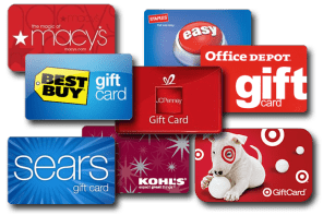 Retail store gift cards, store gift cards, gift card fulfillment, gift cards, bulk gift cards, bulk gift card fulfillment